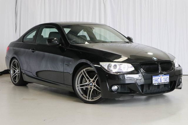 Used BMW 3 Series E92 MY0911 335i D-CT M Sport, 2011 BMW 3 Series E92 MY0911 335i D-CT M Sport Black 7 Speed Sports Automatic Dual Clutch Coupe