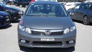 2012 Honda Civic 9th Gen Sport Grey 5 Speed Sports Automatic Sedan.
