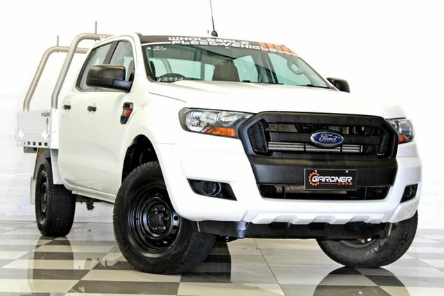 Used Ford Ranger PX MkII MY17 XL 3.2 (4x4), 2016 Ford Ranger PX MkII MY17 XL 3.2 (4x4) White 6 Speed Automatic Crew Cab Chassis