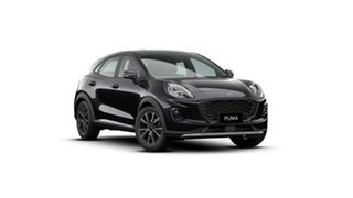 2020 Ford Puma JK 2021.25MY Puma Agate Black Metallic 7 Speed Sports Automatic Dual Clutch Wagon