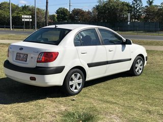 2006 Kia Rio JB White 5 Speed Manual Hatchback