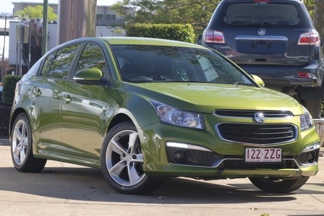 Used Holden Cruze JH Series II MY15 SRi-V, 2015 Holden Cruze JH Series II MY15 SRi-V Green 6 Speed Sports Automatic Hatchback
