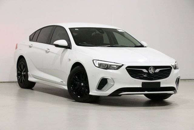 Used Holden Commodore ZB RS, 2018 Holden Commodore ZB RS White 9 Speed Automatic Liftback