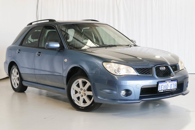 Used Subaru Impreza S MY07 AWD, 2007 Subaru Impreza S MY07 AWD Blue 4 Speed Automatic Hatchback