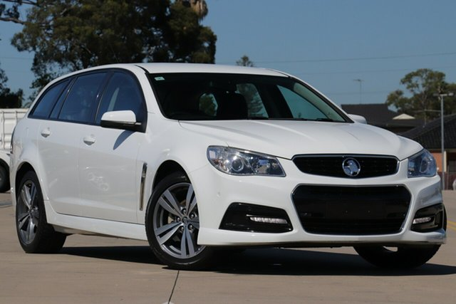 Used Holden Commodore VF MY15 SV6, 2015 Holden Commodore VF MY15 SV6 White 6 Speed Automatic Sportswagon