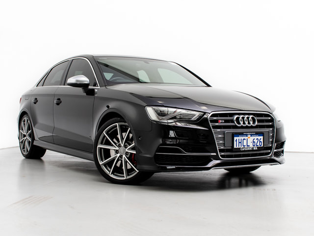 Used Audi S3 8V MY16 2.0 TFSI Quattro, 2016 Audi S3 8V MY16 2.0 TFSI Quattro Black 6 Speed Direct Shift Sedan