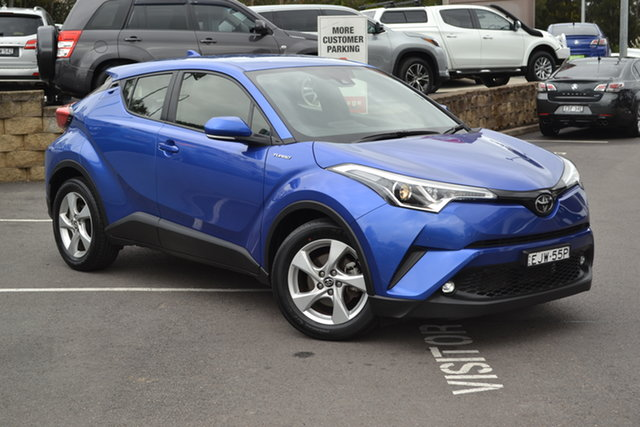 Used Toyota C-HR NGX10R S-CVT 2WD, 2018 Toyota C-HR NGX10R S-CVT 2WD Blue 7 Speed Constant Variable Wagon