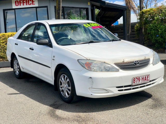 Used Toyota Camry ACV36R Altise, 2003 Toyota Camry ACV36R Altise White 4 Speed Automatic Sedan