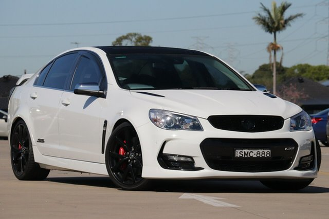 Used Holden Commodore VF II MY16 SS V Redline Chullora, 2016 Holden Commodore VF II MY16 SS V Redline White 6 Speed Sports Automatic Sedan