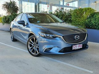 2014 Mazda 6 GT Blue 6 Speed Automatic Sedan.