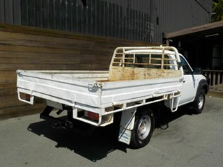 2008 Mazda BT-50 UNY0E4 DX White 5 Speed Manual Cab Chassis.