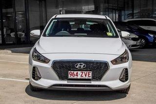 2019 Hyundai i30 PD2 MY20 Active Polar White 6 Speed Sports Automatic Hatchback.