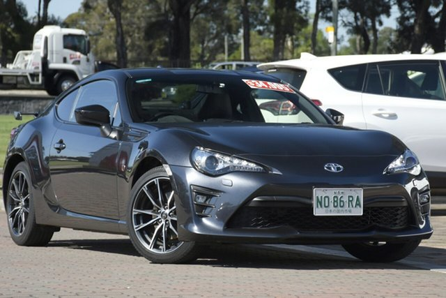 Used Toyota 86 ZN6 GTS, 2016 Toyota 86 ZN6 GTS Grey 6 Speed Sports Automatic Coupe