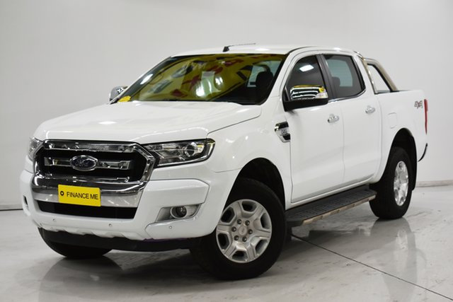 Used Ford Ranger PX MkII MY17 XLT 3.2 (4x4) Brooklyn, 2017 Ford Ranger PX MkII MY17 XLT 3.2 (4x4) White 6 Speed Automatic Dual Cab Utility