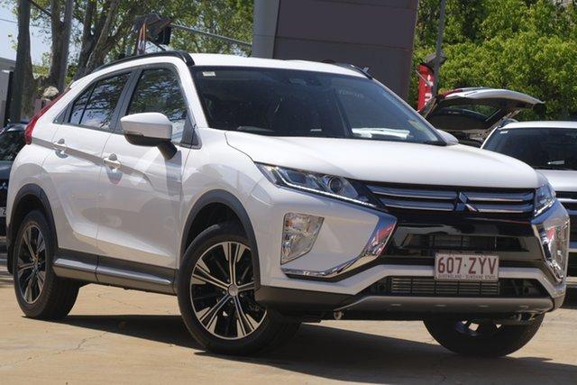 Demo Mitsubishi Eclipse Cross YA MY20 LS 2WD, 2020 Mitsubishi Eclipse Cross YA MY20 LS 2WD White 8 Speed Constant Variable Wagon
