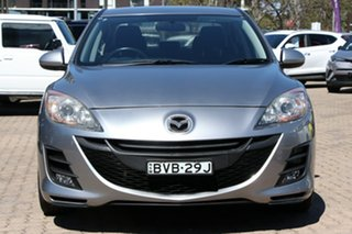 2010 Mazda 3 BL 10 Upgrade Diesel Silver 6 Speed Manual Sedan