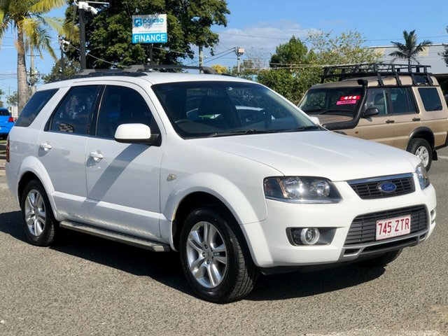 Used Ford Territory SY MkII TS AWD Limited Edition, 2011 Ford Territory SY MkII TS AWD Limited Edition White 6 Speed Sports Automatic Wagon