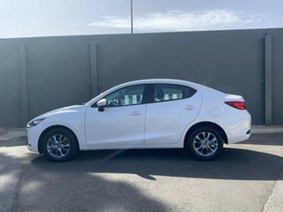 2020 Mazda 2 DL2SAA G15 SKYACTIV-Drive Pure Snowflake White 6 Speed Sports Automatic Sedan.