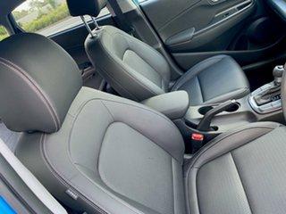 2020 Hyundai Kona OS.3 MY20 Elite D-CT AWD Blue Lagoon 7 Speed Sports Automatic Dual Clutch Wagon