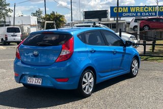 2017 Hyundai Accent RB5 MY17 Sport Blue 6 Speed Sports Automatic Hatchback