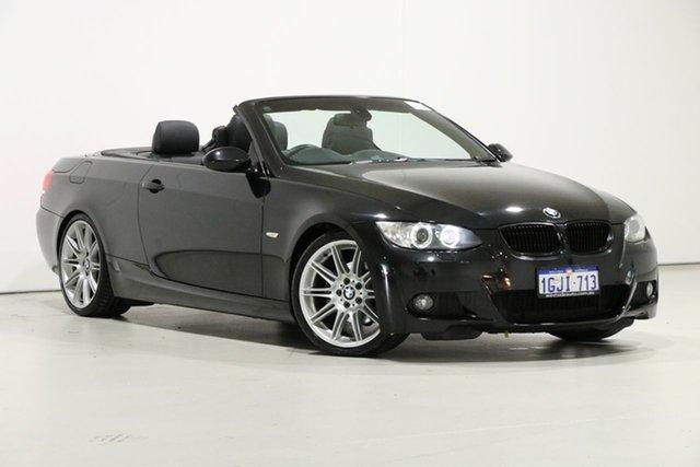 Used BMW 325i E93 MY09 , 2009 BMW 325i E93 MY09 Black 6 Speed Auto Steptronic Convertible