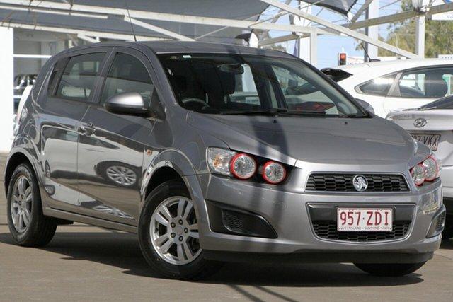 Used Holden Barina TM , 2012 Holden Barina TM Grey 5 Speed Manual Hatchback
