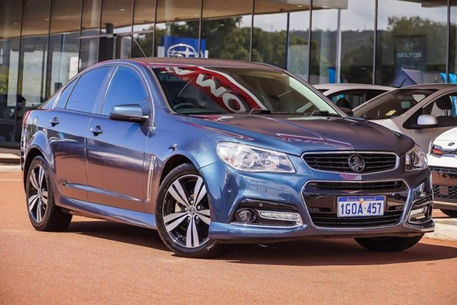Used Holden Commodore VF MY14 SS, 2014 Holden Commodore VF MY14 SS Blue 6 Speed Sports Automatic Sedan