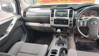 2011 Nissan Navara D40 MY10 ST-X White 6 Speed Manual Utility