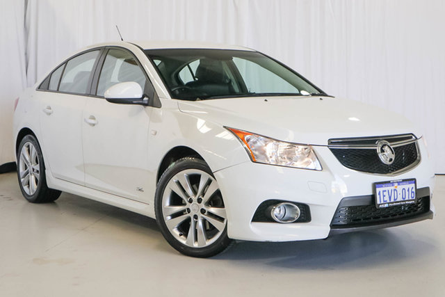 Used Holden Cruze JH Series II MY14 SRi Z Series, 2014 Holden Cruze JH Series II MY14 SRi Z Series White 6 Speed Sports Automatic Sedan