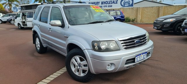 Used Ford Escape ZC Limited, 2007 Ford Escape ZC Limited Silver 4 Speed Automatic SUV