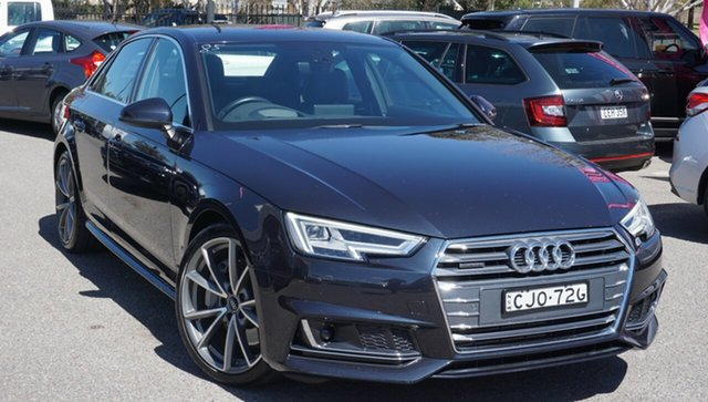 Used Audi A4 B9 8W MY17 Sport S Tronic Quattro, 2016 Audi A4 B9 8W MY17 Sport S Tronic Quattro Blue 7 Speed Sports Automatic Dual Clutch Sedan