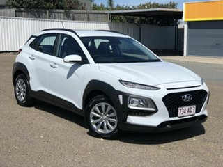 2019 Hyundai Kona OS.3 MY20 Go 2WD White 6 Speed Sports Automatic Wagon.