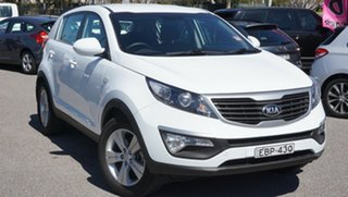 2013 Kia Sportage SL Series II MY13 SI White 6 Speed Sports Automatic Wagon.