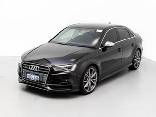 2016 Audi S3 8V MY16 2.0 TFSI Quattro Black 6 Speed Direct Shift Sedan