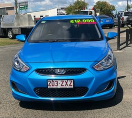 2017 Hyundai Accent RB5 MY17 Sport Blue 6 Speed Sports Automatic Hatchback.