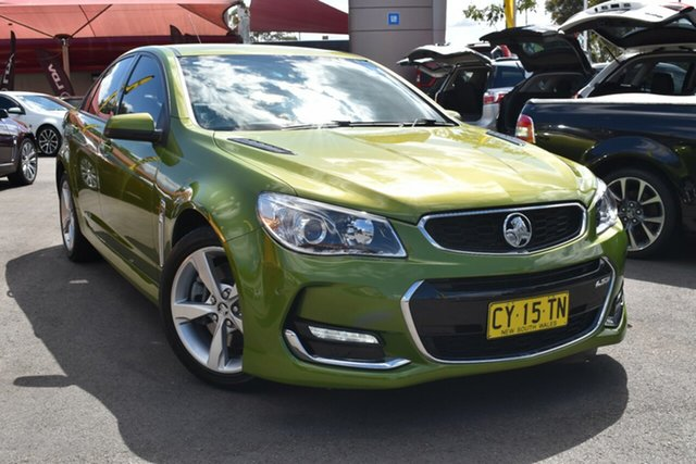 Used Holden Commodore VF II MY16 SS, 2015 Holden Commodore VF II MY16 SS Green 6 Speed Sports Automatic Sedan
