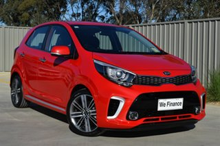 2018 Kia Picanto JA MY19 GT-Line Signal Red 4 Speed Automatic Hatchback.