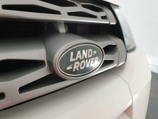 2014 Land Rover Range Rover Evoque L538 MY14 TD4 Pure White 9 Speed Sports Automatic Wagon.