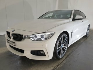 2014 BMW 4 Series F36 435i Gran Coupe White 8 Speed Sports Automatic Hatchback