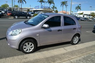 2011 Nissan Micra K13 ST-L Pink 4 Speed Automatic Hatchback.