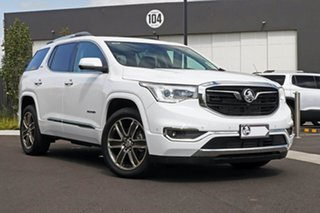 2019 Holden Acadia White Wagon