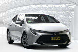 2018 Toyota Corolla Mzea12R SX White Continuous Variable Hatchback.