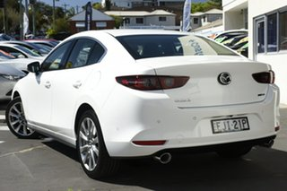 2020 Mazda 3 BP2SHA X20 SKYACTIV-Drive Astina White 6 Speed Sports Automatic Sedan.