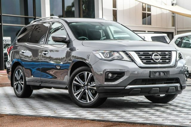 Used Nissan Pathfinder R52 Series III MY19 Ti X-tronic 4WD, 2020 Nissan Pathfinder R52 Series III MY19 Ti X-tronic 4WD Gun Metallic 1 Speed Constant Variable