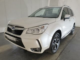 2013 Subaru Forester S4 MY14 XT Lineartronic AWD White 8 Speed Constant Variable Wagon.