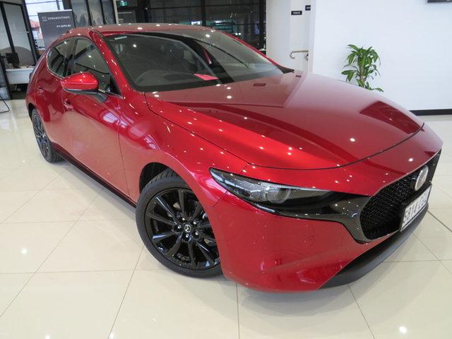 Demo Mazda 3 BP2HLA G25 SKYACTIV-Drive Astina, 2020 Mazda 3 BP2HLA G25 SKYACTIV-Drive Astina Soul Red Crystal 6 Speed Sports Automatic Hatchback