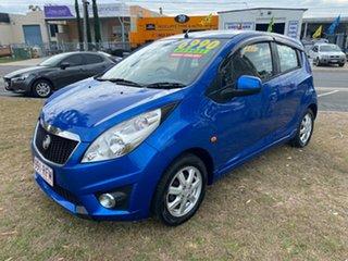 2010 Holden Barina TK MY11 Blue Hatchback.