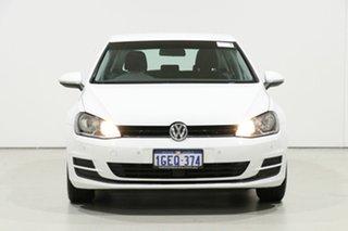 2016 Volkswagen Golf AU MY16 92 TSI White 7 Speed Auto Direct Shift Hatchback.