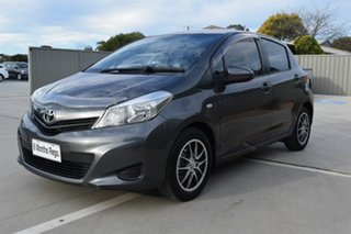2012 Toyota Yaris NCP130R YR Grey 4 Speed Automatic Hatchback