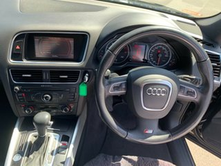 2011 Audi Q5 8R MY12 TFSI S Tronic Quattro Black 7 Speed Sports Automatic Dual Clutch Wagon